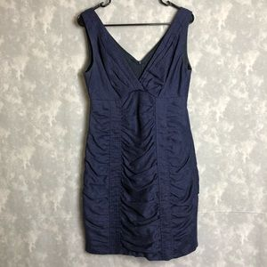 Nanette Lepore blue fitted dress size 6
